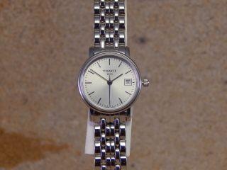 Tissot Quarz T52.  1.  281.  31/ Damen - Armbanduhr W119 Bild