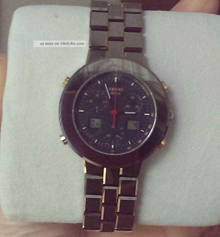 Rado Diamaster Chrono Maxi Armbanduhren Bild