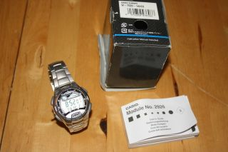 Casio Segeluhr Chronograph Modell W - 753d - 1aves Ovp Armbanduhr Licht Timer Bild