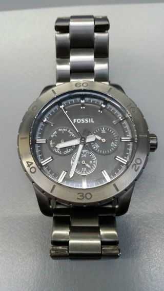 Fossil Bq 1057 All Stainless Steel Bild