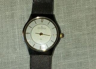 Skagen Designs Steel 233xsgsc Armbanduhr Für Damen Bild