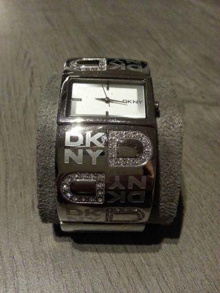 Dkny Damen - Armbanduhr Quarz Silber Ny4738 Bild