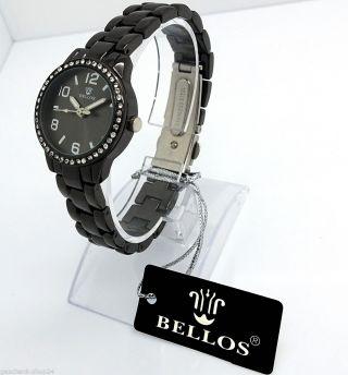 Damen Armbanduhr Quarz Uhr Schwarz Sonderposten Restposten Mode Damenuhr Bild