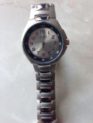 Herren Armband Uhr Von Agnex Quartz Armbanduhr Watch Weihnachten Geschenk Bild