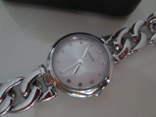 Fossil Damen Armband Uhr Es3390 Olive Silber Uhren Edelstahl Damenuhr Bild