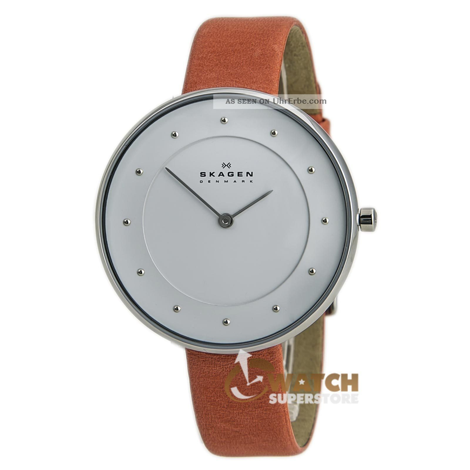 damen armbanduhr skagen skw2135 denmark zifferblatt wei. Black Bedroom Furniture Sets. Home Design Ideas