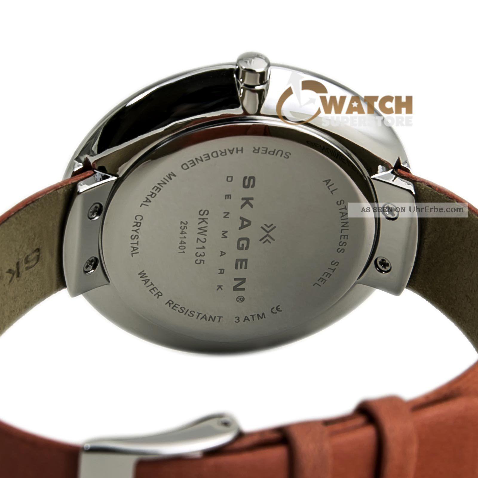 Damen Armbanduhr Skagen Skw2135 Denmark Zifferblatt Weiß
