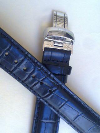 Tissot Prc200 Leder Black 19mm Leather Strap Watch Bild