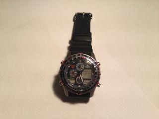 Citizen Promaster Navihawk World Time Titan Herren Armband Uhr Bild