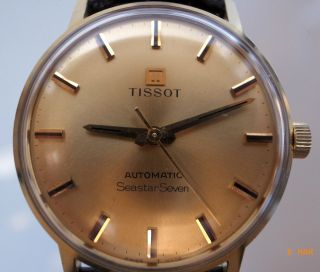 Goldene Tissot Automatic Seastar Seven Bild