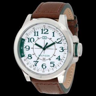 Tommy Hilfiger Herren - Armbanduhr Casual Sport Xl Analog Quarz Leder 1790842 Bild