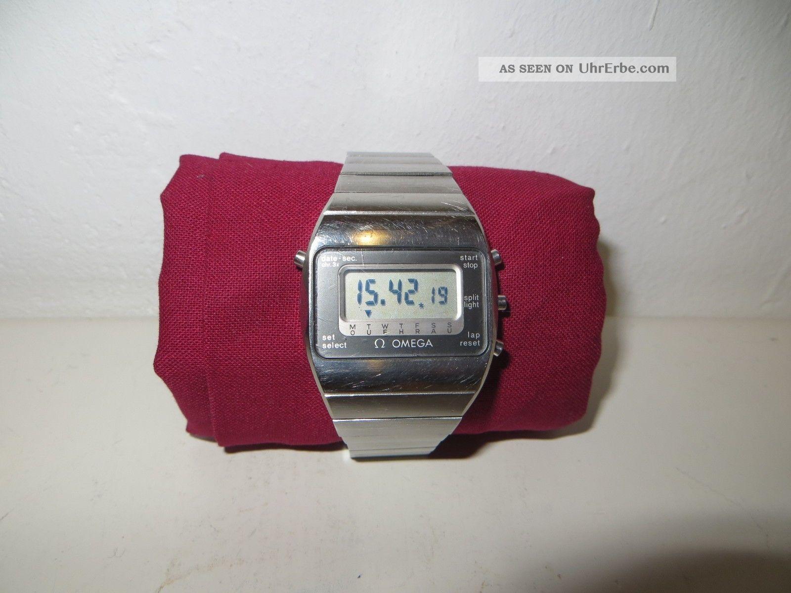 Omega Speedmaster (constellation) - Quarz - Kaliber Lcd 1620 - Vintage - 1981 - Art.  1341 Armbanduhren Bild