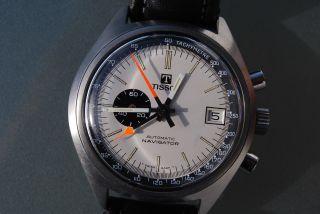 Tissot Navigator Automatic Chronograph Kal.  2170 / Lemania 1341 Top 70er Chrono Bild