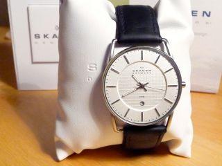 Skagen Herrenarmband Uhr,  241lslc,  Stainless Steel,  Mineralglas Bild