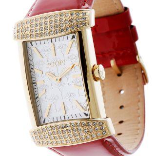 Joop Damenuhr Glam Opera Jp100552f05 Quarz Gold Rot Strass, Bild