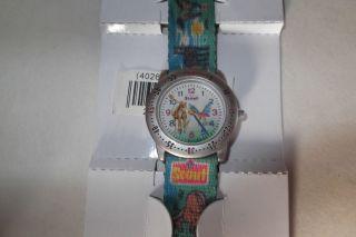 Kinderuhr Armbanduhr Uhr Scout Mädchenuhr Mit Pferden Bild