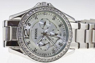 Fossil Damenuhr Es - 3202 - 251309 - Neues Design,  Np 119,  - Bild