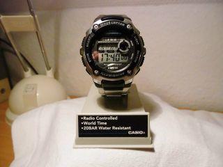 Casio Wave Ceptor Wv - 200de - 1aver Armbanduhr Für Herren Bild
