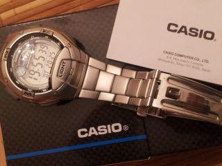 Casio Top Modell W - 753 1aves Sportuhr Wasserdicht Bild