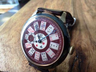 Omega Antike Armbanduhr Bild