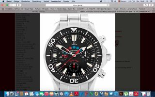 Omega - Seamaster Americas Cup Racing Chronograph Chronometer Ref.  2596.  50. Bild