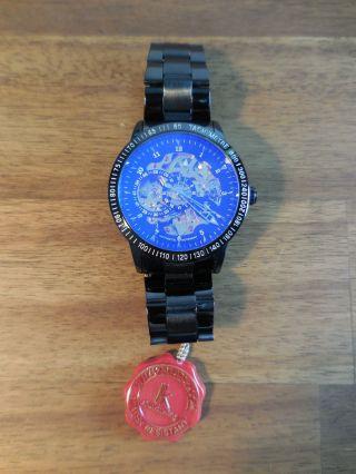 Luxuriöse Herren Automatik Armbanduhr – Top Verarbeitet – Lk Colouring Bild