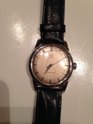 Omega Seamaster Vintage Armbanduhr Antik Handaufzug 50 - Er Jahre Bild