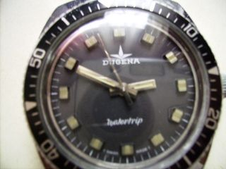 Dugena Watertrip Handaufzug Diver Design Bild