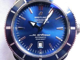 Breitling Superocean Heritage 46 A17320,  Blau,  2012 In Topp Bild