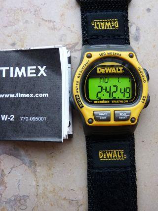 Dewalt Elektrowerkzeugetimex Ironman Triathlon Herrenuhr Sportuhr Armbanduhr Bild
