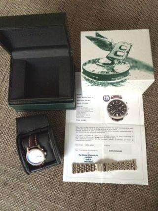 Breitling For Bentley Mark Vi Herren Chronograph Lederband Stahlband A975 P26362 Bild