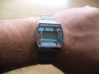 Defekte Uhrsammlung Alte Casio 209 Gf - 11 Basketball Spiel Herrn Armbandur Bild