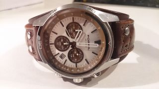 Fossil Uhr Ch - 2565 Armbanduhr Bild