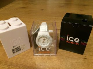 Ice - Watch Sili White Big Big Si.  We.  Bb.  S.  11 Wie - Top Nur 2x Getragen Bild