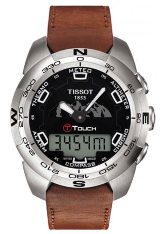 Tissot T - Touch Expert,  Jungfraubahnedition,  Ovp Bild