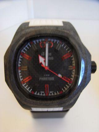 Itime Orologi Phantom Carbon Monocoque Gehäuse Ph4900 - C Uvp 210€ Bild