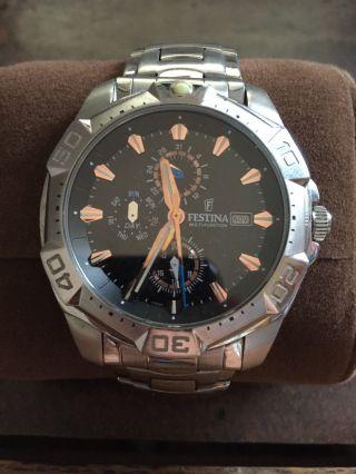 Fossil Armbanduhr Selten Getragen Bild