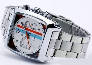 Modische Herrenuhr Automatik Uhr Edelstahl A511 W. Bild