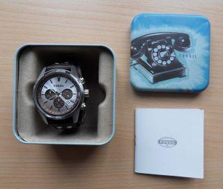 Fossil Ch2565 Herrenuhr Armbanduhr Sport Chronograph - Neuwertig Bild