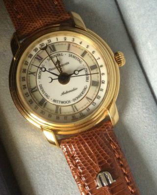 Maurice Lacroix Fünf Zeiger Uhr Damen 27388,  Armband,  Weihnachten,  Exklusiv Bild
