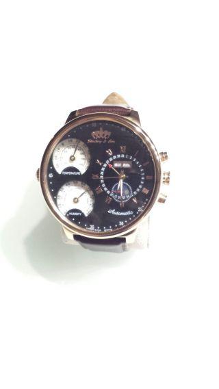 Lindberg & Sons,  Chronograph,  Datum,  Wochentag,  Monat,  5atm Wasserdicht,  54mm Bild