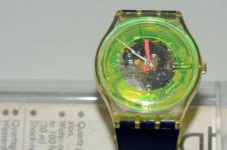 Swatch Gent Techno - Sphere Gk101 1985 Herren - Armbanduhr Batt.  Ovp Bild