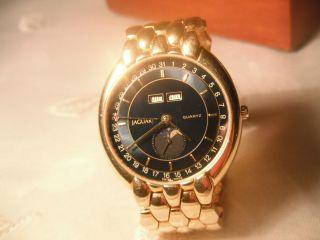 Jaguar Swiss Uhr Quar Chronometer Damen/herren Sehr Hochwertig Und Edel,  Selten Bild