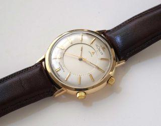 Jaeger Lecoultre Memovox Armbandwecker 1950er Jahre – Gold Filled Bild