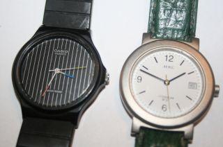 Konvolut Herren - / Damen - Uhr Adec Titanium Casio Quarz - Werk Sammler Bastler Bild