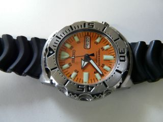Seiko Orange Monster Bild