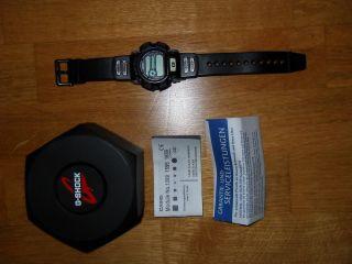 Digital Casio G - Shock Herren Jungen Armbanduhr Modell 1659 Schwarz Grau Weiß Ovp Bild
