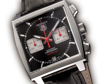 Tag Heuer Monaco Herrenuhr Chronograph Caw2114.  Fc6177 Calibre 12 Ovp.  Watch Bild