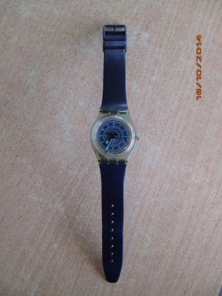 Swatch Armbanduhr Plastik 1999 Rarität Sammlerstück Top Bild