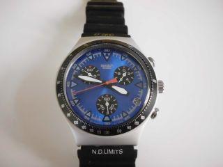 Armbanduhr Herren Uhr Swatch Irony Aluminium Bild